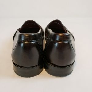 Cole Haan Shoes - Cole Haan City | Black Moc Toe Penny Loafers Sz 10